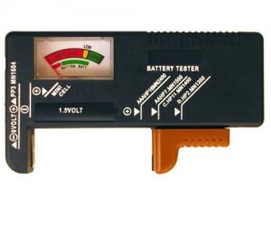 D&T. TEST-555 Δοκιμαστής μπαταριών 1.5V και 9V