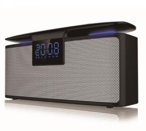 Akai ABTS-M10 Φορητο Ηχειο Bluetooth με διπλο ξυπνητήρι aux-in ράδιο