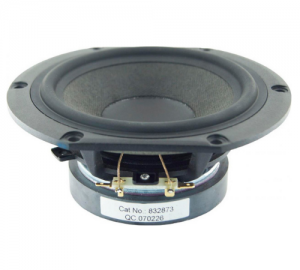 Peerless 832 873 HDS. Nomex High End Mid Woofer 5.25