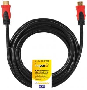 Heitech 09001404 Καλώδιο HDMI με ethernet 5 m