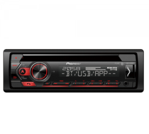 Pioneer DEH-S320BT  Ράδιο/cd/usb/bluetooth, 4x50w, 2rca