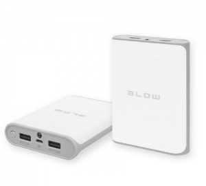 BLOW POWERBANK 14000MAH 2XUSB PB14 ΛΕΥΚΟ