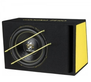 Ground Zero GZIB 3000SPL subwoofer σε καμπίνα