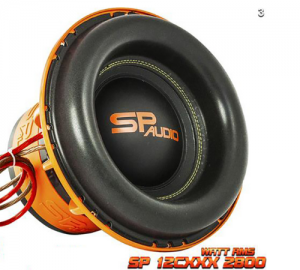 SP Audio SP12CXXX Subwoofer 12''30cm 2800WATT RMS 4Ohm.2+2Ohm.