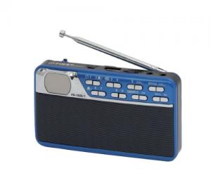 FIRST FA-1925-1 ΡΑΔΙΟ/ΡΟΛΟΙ, MP3/USB