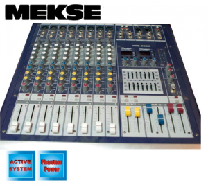 Meske PRO-882D αυτοενισχυόμενη κονσόλα 2x300w