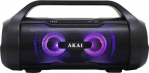 Akai ABTS-50 Αδιάβροχο ηχείο bluetooth με TWS.USB,LED,AUX