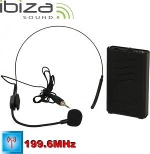 IBIZA PORTHEAD12-2 Ασύρματο μικρόφωνο κεφαλής