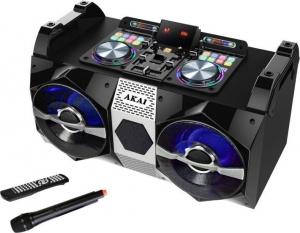 Akai DJ-530 Party speaker με Bluetooth, μίκτη και LED – 120 W RMS