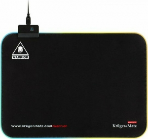 Kruger&Matz Warrior KM0766  Mousepad με LED φωτισμό