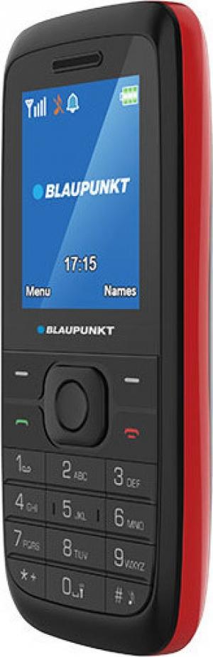 Blaupunkt FS 01 Black Κινητό τηλέφωνο με κάμερα 0,3 MP και LCD οθόνη 1,8 – Μαύρο