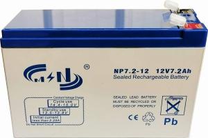 MSN.BAT-1272 Μπαταρία Μολύβδου κλειστού τύπου 12V 7.2AH UPS F2 (6.4MM)
