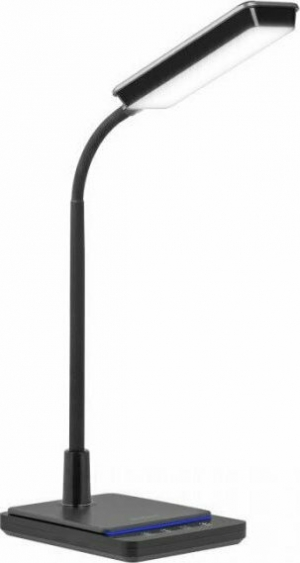 Rebel KOM1011 Μαύρο.Λάμπα γραφείου LED με δυνατότητα επιλογής θερμοκρασίας χρώματος