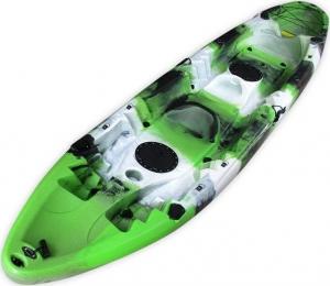 SCK Nereus RYM06-NR Green/White/Black θαλάσσιο καγιάκ 2+1 θέσεων - Πράσινο/Άσπρο/Μαύρο