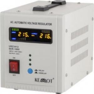 Kemot SER-2000 Σταθεροποιητής Τάσης Servo 2000VA με 2 Πρίζες Ρεύματος
