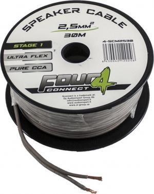Four Connect SCM2530.Καλώδιο 30m κουλούρα 2x2.50mm