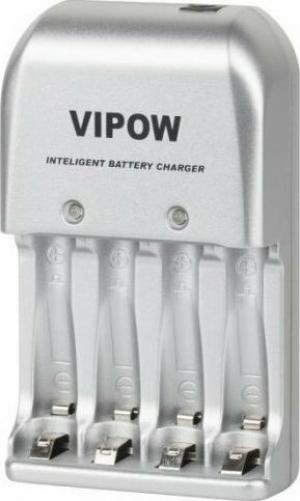 Vipow BAT1142 Φορτιστής μπαταρίας 3 σε 1 PFC001 4xAA 4xAAA