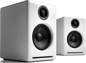 Audioengine A2+ Wireless White Ασύρματα Αυτοενισχυόμενα Ηχεία Βιβλιοθηκης (White)