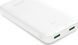 PURO Powerbank White Ταχείας Φόρτισης 20000mAh – Άσπρο