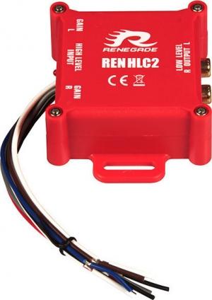RENEGADE REN HLC 2 Μετατροπέας RCA  2 Καναλιών