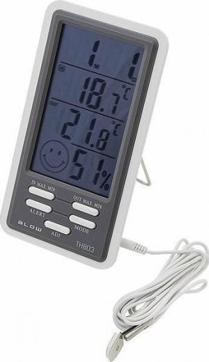 Blow TH-803 Θερμόμετρο - Υγρασιόμετρο - Ρολόι
