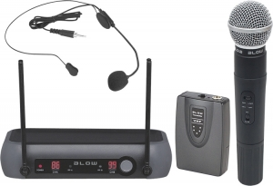 Blow PRM-902 μικρόφωνο ασύρματο, χειρός, διπλό