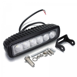 Προβολέας Αυτοκινήτου 18W με 6 Super LED IP67 LT18