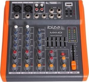 Ibiza MX401 μίκτης 4 καναλίων