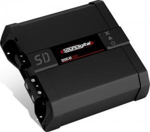 SounDigital SD1200.1 EVO 4.0 Μονοκαναλος 1 x 1200w RMS-1Ω