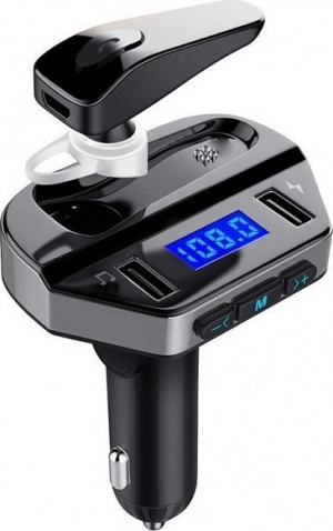 V6 Bluetooth Hands-Free Car Kit Transmitter