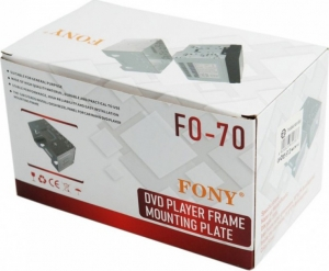 Μεταλλική Βάση Στήριξης - Πλαίσιο για 2DIN Universal FO-70 OEM