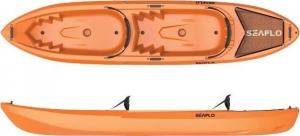 Seaflo Pair SF-2003 Πορτοκαλί Διθέσιο καγιάκ με 2 κουπιά