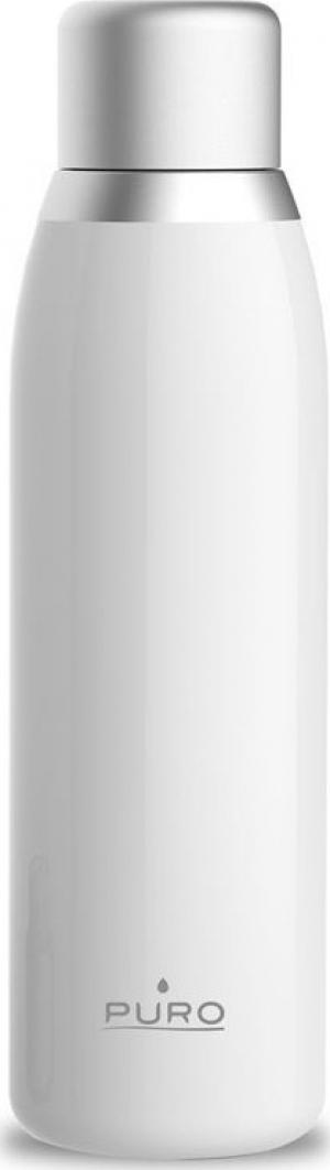 Puro Smart Bottle Double Wall 500ml Θερμός – Άσπρο