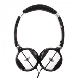 Ακουστικά Headphones Mini Cooper – Άσπρο/Μαύρο MNHP814BL