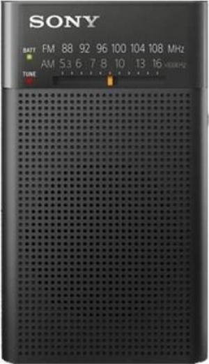 Sony ICF-P26 Φορητό Ραδιόφωνο Μπαταρίας Μαύρο