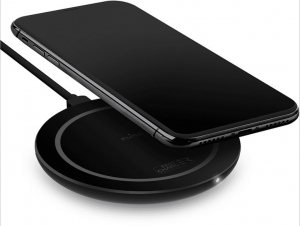 Puro Fast Charger Wireless Charging Station QI, Max Output 10W – Μαύρο