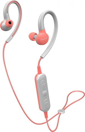 Pioneer SE-E6BT In-ear Bluetooth Handsfree Ροζ