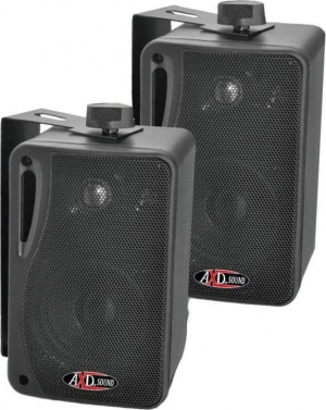 AXD SOUND TE4005B.Zεύγος ηχείων 4'' 3-Δρόμων 120W