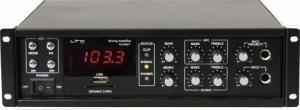 Ltc Audio PAA80BT.Ενισχυτής ανακοινώσεων. PA με ράδιο.