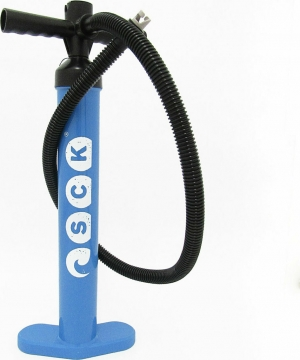 SCK-PMP-2BU Μπλε Τρόμπα χειρός διπλής ενεργείας για φουσκωτά SUP