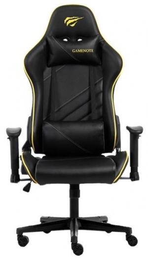 Havit GC930 Gaming Καρέκλα Μαύρο/Κίτρινο