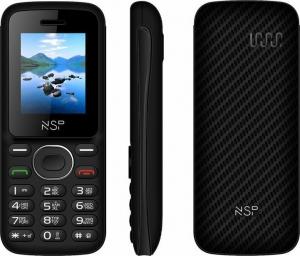 NSP 1800DS BLACK / RED (Ελληνικό Μενού) Κινητό τηλέφωνο Dual SIM μεBT και οθόνη 1.8″