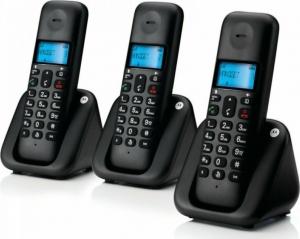Motorola T303 τριπλό ασύρματο τηλέφωνο