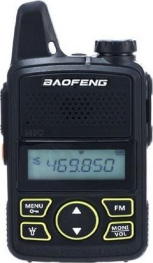 Baofeng BF-T1 Ασύρματος επαγγελματικός πομποδέκτης Μαύρος