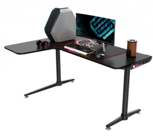 Eureka Ergonomic L60 Gaming Γραφείο (157.3x111.8x76.5cm)
