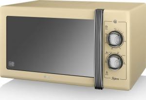 Swan 900W Manual Microwave – Φούρνος μικροκυμάτων Μπεζ