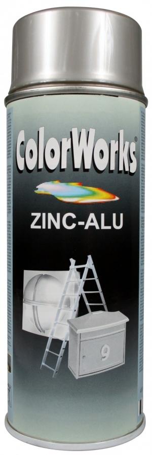 ColorWorks Alu-Zinc Spray Σπρει ψυχρό γαλβάνισμα