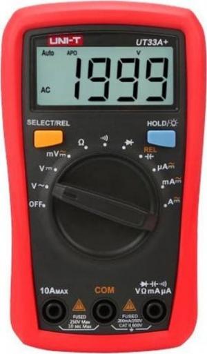 Uni-T UT33A+ Ψηφιακό Πολύμετρο