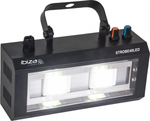 STROBE40LED.Led strobe 2 x 20W from Ibiza Light.