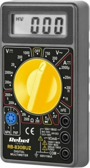 REBEL RB-830BUZ Πολύμετρο